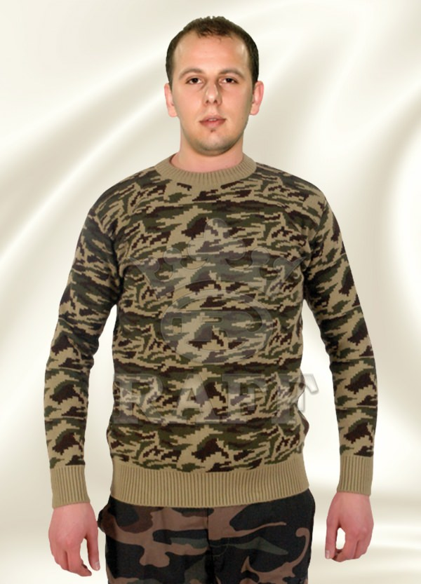 PULL OVER CAMOUFLAGE MILITAIRE 082