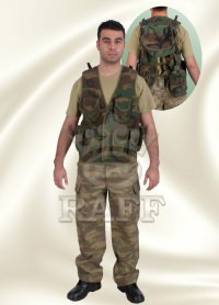 GILET TACTIQUE CAMOUFLAGE 067