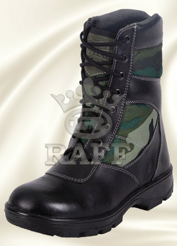 BOTTE CAMOUFLAGE MILITAIRE 816
